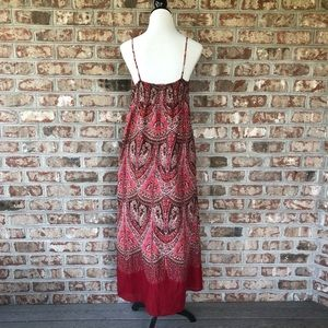 GAP Dresses - Gap 100% Cotton Smocked Back BOHO Maxi Dress 14